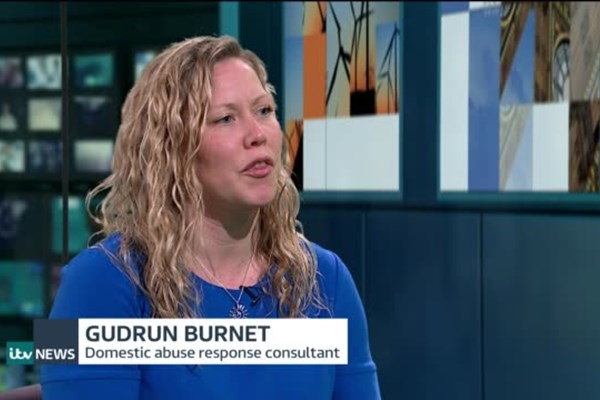Video: ITV news interview with Gudrun Burnet